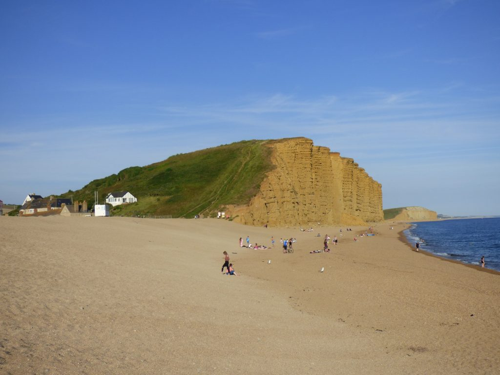 West Bay - East Beach things to do on the beach with children