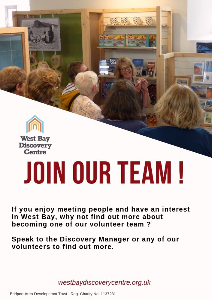 West Bay Discovery Volunteer poster