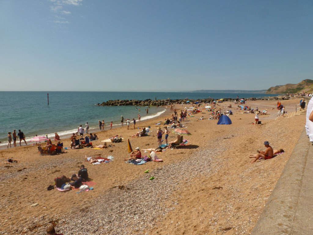 What are the beaches like at West Bay?